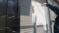城里町 T様邸 外壁塗装(下塗り・中塗り)