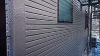 城里町 T様邸 外壁塗装(上塗り)