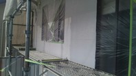 ひたちなか市 A様邸 外壁塗装(中塗り・上塗り)
