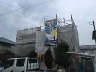 東海村 T様邸 屋根・外壁塗装(架設足場組立)