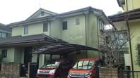 笠間市 H様邸 屋根・外壁塗装(着工前)