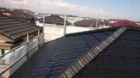 笠間市 H様邸 屋根塗装(上塗り)