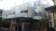 笠間市 H様邸 屋根・外壁塗装(架設足場組立)