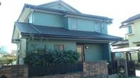 笠間市 H様邸 屋根・外壁塗装(完了)