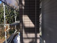 東海村 T様邸 外壁目地補修(撤去・打設・均し)