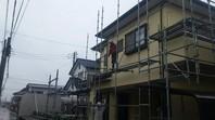 ひたちなか市 T様邸 屋根・外壁塗装(架設足場組立)