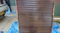 笠間市 H様邸 雨戸塗装(ケレン・下塗り・中塗り・上塗り)