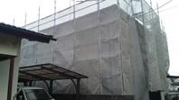 ひたちなか市 O様邸 屋根・外壁塗装(架設足場組立)