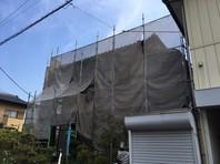 笠間市 M様邸 外壁塗装(架設足場組立)