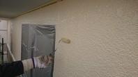 ひたちなか市 J様邸 外壁塗装(上塗り)