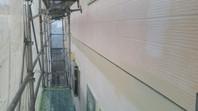 東海村 A様邸 外壁塗装(下塗り・中塗り)