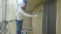 ひたちなか市 F様邸 外壁塗装(上塗り)