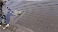 ひたちなか市 J様邸 屋根塗装(下塗り・中塗り・上塗り)