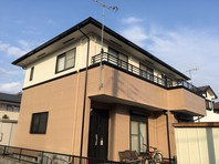 水戸市 T様邸 外壁塗装(完成)