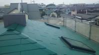 ひたちなか市 F様邸 屋根塗装(上塗り)
