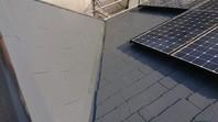 城里町 I様邸 屋根塗装(上塗り)