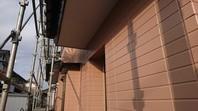 ひたちなか市 N様邸 外壁塗装(上塗り)