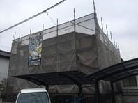 ひたちなか市 J様邸 屋根・外壁塗装(架設足場組立)