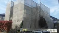 ひたちなか市 N様邸 外壁塗装(架設足場組立)