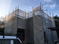 ひたちなか市 F様邸 屋根・外壁塗装(架設足場組立)