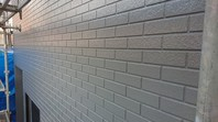 ひたちなか市 R様邸 外壁塗装(上塗り)
