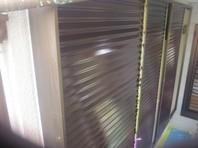 笠間市 M様邸 雨戸塗装(ケレン・下塗り・中塗り・上塗り)
