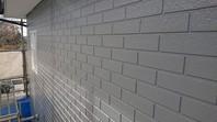 ひたちなか市 R様邸 外壁塗装(養生・下塗り・中塗り)