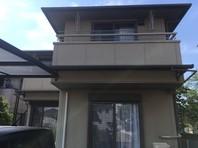 ひたちなか市 F様邸 屋根・外壁塗装(着工前)