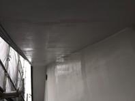 宇都宮市 Y様邸 軒天塗装(下塗り・中塗り・上塗り)