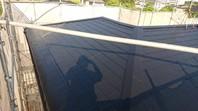城里町 M様邸 屋根塗装(上塗り)