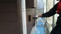 常陸太田市 N様邸 外壁塗装(上塗り)