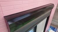 宇都宮市 M様邸 シャッターBOX塗装(ケレン・下塗り・中塗り・上塗り)