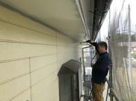 石岡市 O様邸 外壁塗装(高圧洗浄)