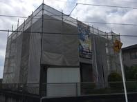 城里町 T様邸 屋根・外壁塗装(架設足場組立)