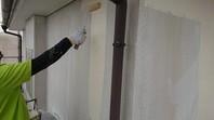 城里町 M様邸 外壁塗装(下塗り・中塗り)