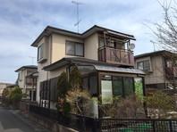 城里町 M様邸 屋根・外壁塗装(着工前)