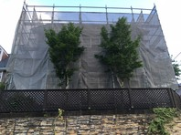 つくば市 S様邸 屋根・外壁塗装(架設足場組立)