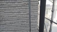 城里町 I様邸 外壁目地補修(撤去・打設・均し)
