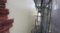 高萩市 T様邸 外壁塗装(中塗り・上塗り)
