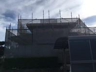 ひたちなか市 Y様邸 外壁塗装(架設足場組立)