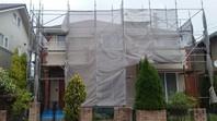高萩市 T様邸 外壁塗装(架設足場組立)
