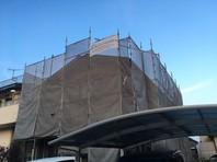 神栖市 K様邸 屋根・外壁塗装(架設足場組立)