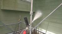 常陸太田市 N様邸 外壁塗装(高圧洗浄)
