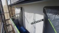 神栖市 K様邸 外壁塗装(下塗り・中塗り・上塗り)