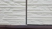 那珂市 K様邸 外壁目地補修(撤去・打設・均し)