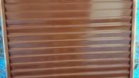 水戸市 H様邸 雨戸塗装(ケレン・下塗り・中塗り・上塗り)