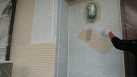 益子町 K様邸 外壁塗装(下塗り・中塗り)
