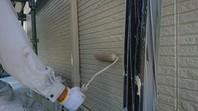 益子町 K様邸 外壁塗装(上塗り)
