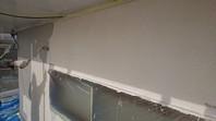 水戸市 H様邸 外壁塗装(中塗り・上塗り)