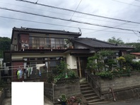 日立市 K様邸 外壁塗装(着工前)